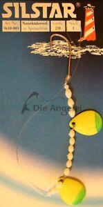 Silstar-Naturkoedervorfach-Butt-Plattfischvorfach-Meeresvorfach-Haken-Gr-2-0