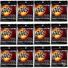 12-Pack GHS Electric Boomers GBXL Extra Light Nickel Steel Guitar Strings (9-42)