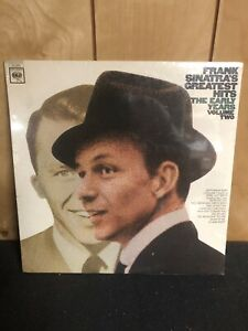 Frank Sinatra Greatest Hits The Early Days Volume 2 Vinyl