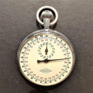 Virgen-SPORTEX-Cronografo-funciona-con-M-NIMAS-einschrankungen-70-er-ANOS
