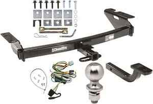 complete trailer hitch package w wiring kit for 1997 2004. Black Bedroom Furniture Sets. Home Design Ideas