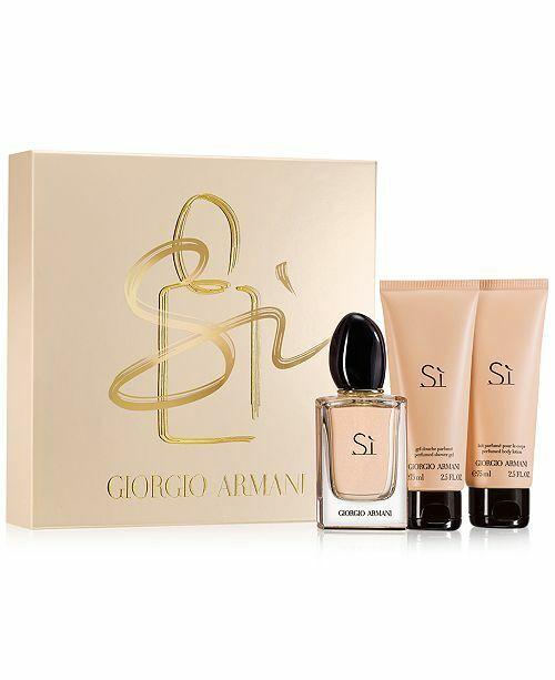 giorgio armani perfume set