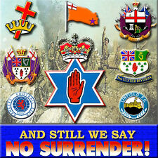****  AND STILL WE SAY  **** NO SURRENDER  *** LOYALIST/ULSTER/ORANGE/CD*