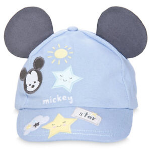 8432ff14efb20 DISNEY STORE MICKEY MOUSE SWIM HAT FOR BABY BASEBALL CAP-STYLE 3-D ...