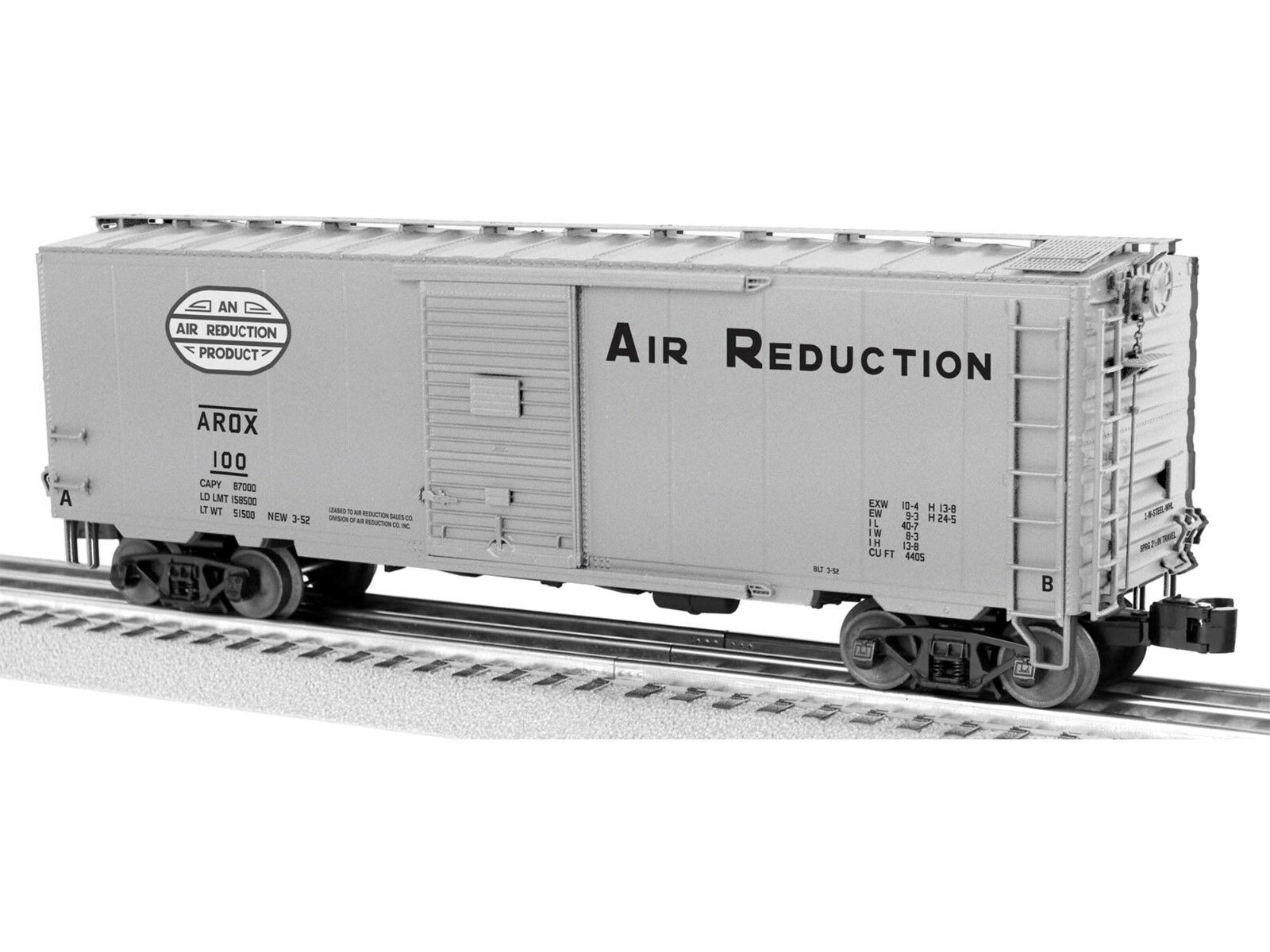 Lionel Trains 6-82625 Air Reduction PS-1 Boxcar O Gauge, NIB
