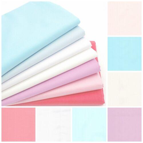 100/% Cotton Plain Superior Lawn Lightweight Fabric Dressmaking