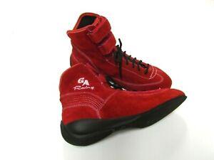 Zapatos-de-Kart-Ga-Racing-Piel-de-ante-Rojo-Gr-43