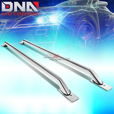 "65/"" CHROME TRUCK SIDE RAIL BAR FOR 07-13 SILVERADO//SIERRA 1500 2500 3500 78/"" BED"