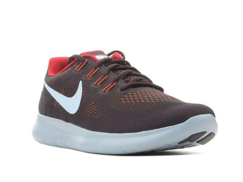 Nike, 880839-007, Men, Free RN 2017, Black, Red, bluee