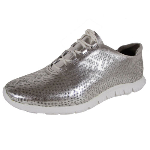 Cole Haan Womens Zerogrand Genevieve Perforated Trainer Shoes