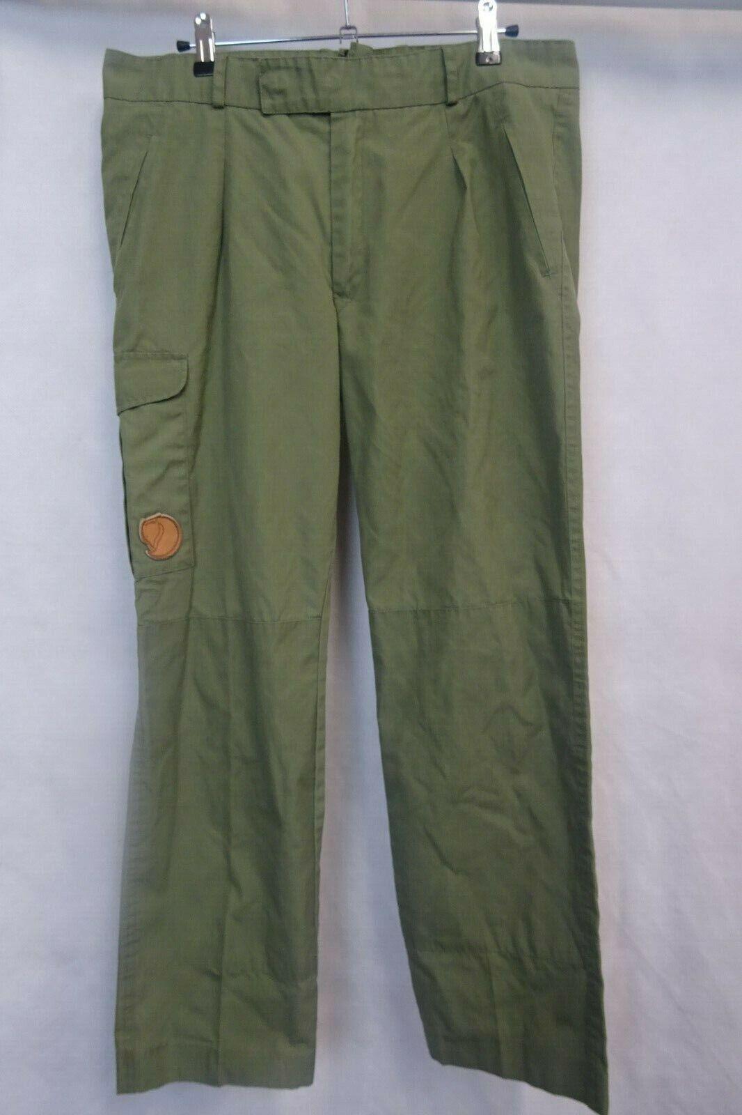 Uomo Fjällräven Groenlandia Pantaloni Pantaloni all'aperto W32 L28