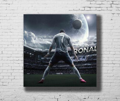 Cristiano Ronaldo Hot Football Super Stars 12x12 24x24 27x27 Fabric Poster E-406