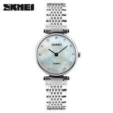 SKMEI Women Luxury  Water Resistant Montre Femme Stainless Steel  Watches