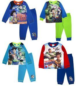 Responsable Garçons Toy Story Long Pyjamas Enfants Disney 2 Pièces Pyjama Set Woody Buzz Rex Jambon Taille-afficher Le Titre D'origine