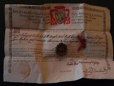 Reliquia S. Giuseppe Josep Oriol Crispino relic reliquary autentica documento