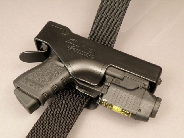 Holster - Fits Glock 19 23 25 32 38 with rail mounted Cree LED
