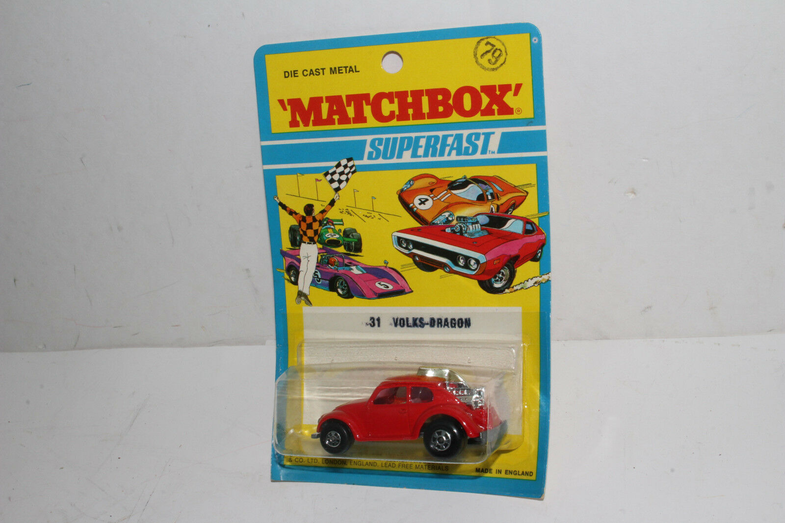 Matchbox Superfast Volks-Dragon Volkswagen VW Escarabajo Street Rod ,