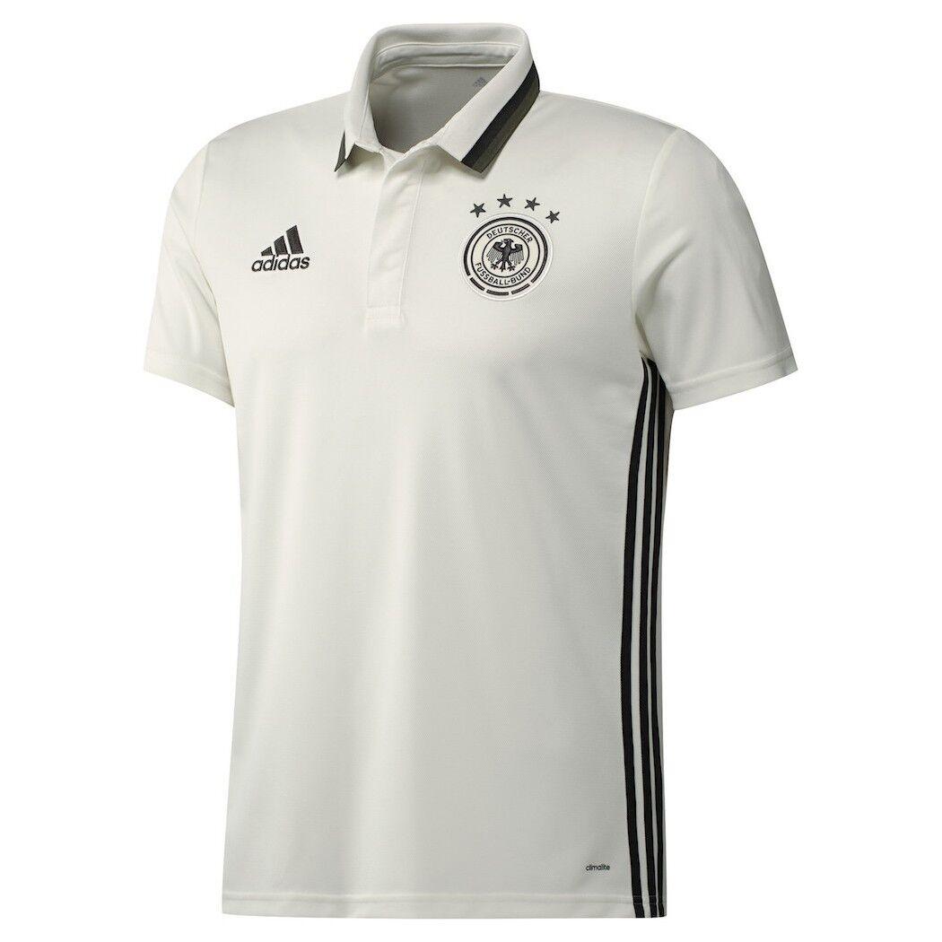 Adidas DFB Poloshirt Deutschland Nationalmannschaft EM 2016 weiß