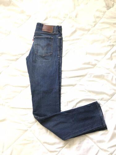 Levi's 510 Super Skinny Stretch Denim Blue Jeans M