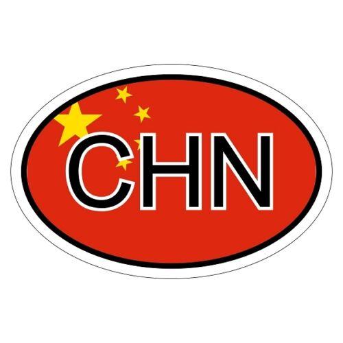 China chn-csd0254 coche Pegatina Sticker Adhesivo KFZ bandera