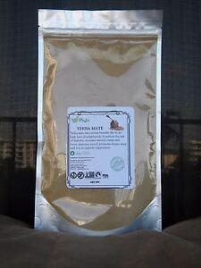 Image is loading YERBA-MATE-powder-16oz-1lb-water-soluble-lesstress-