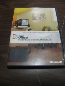 Microsoft office 2003 student and teacher and similar items.