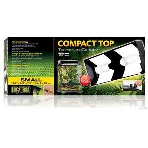 Image is loading Exo-Terra-Small-Compact-Top-Terrarium-Canopy-Reptile-  sc 1 st  eBay & Exo Terra Small Compact Top Terrarium Canopy Reptile Habitat Light ...