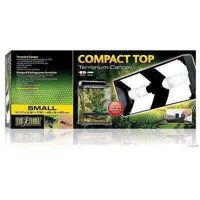 Exo Terra Small Compact Top Terrarium Canopy Reptile Habitat Light Fixture 2226