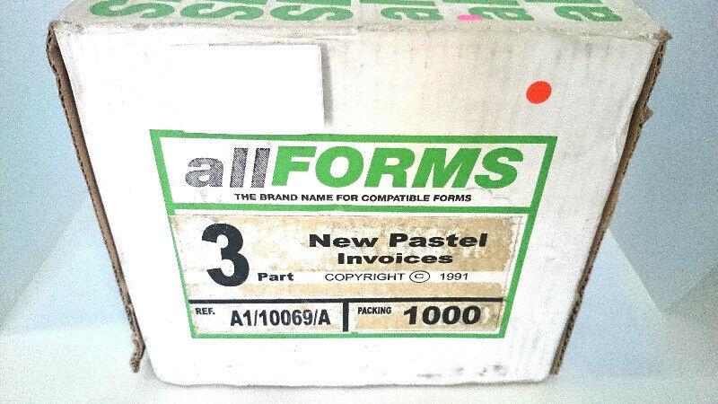 Paper 3part New Pastel Invoices