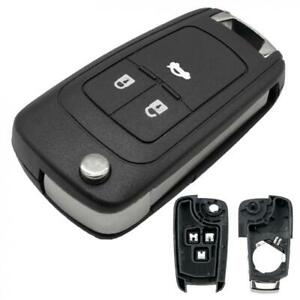 3-Button-Remote-Flip-Car-Key-Fob-Case-Cover-Fit-For-Vauxhall-Opel-Astra-Insignia