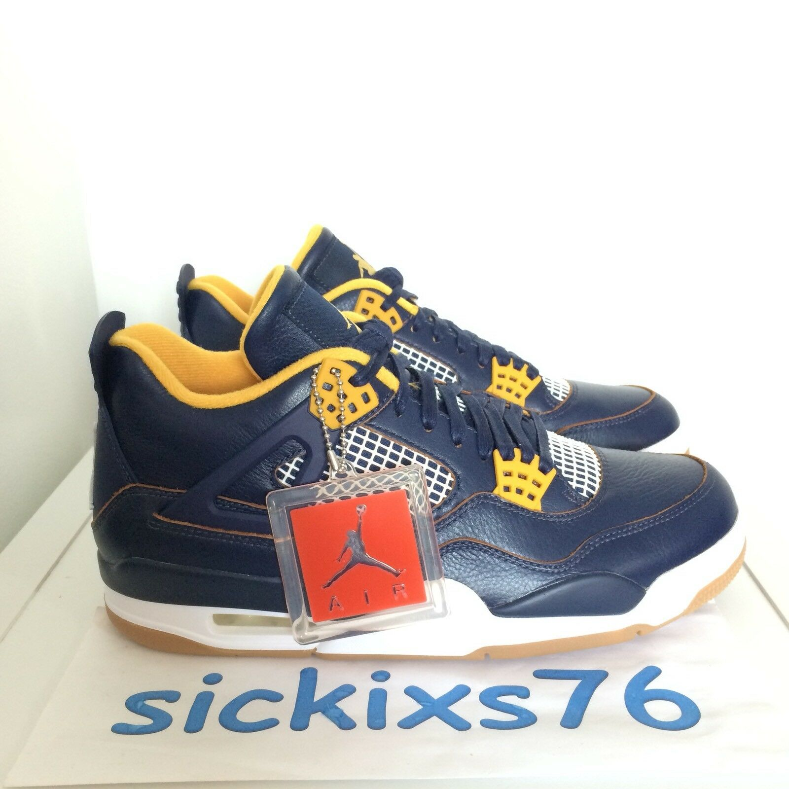 DS Men's Nike AIR JORDAN 4 RETRO 'Dunk From Above' Sz 9.5/Price reduction Seasonal clearance sale