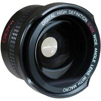 Super Wide Hd Fisheye Lens For Panasonic Hdc-sd5 Hdc-sd9