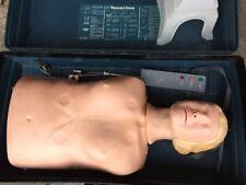 Laerdal Resusci Anne Adult Complete Torso Remote Box Cpr Trainer Nursing Manikin