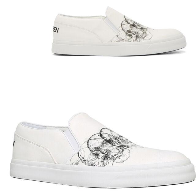 Ultra rare Alexander McQueen Plimsoll Pumps Slip-On Platform Designer  Sneakers b9c348b36