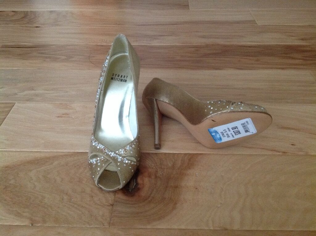 Stuart weitzman jeweled evening pumps pumps pumps 538c10