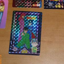 YUYU HAKUSHO PP CARDDASS CARD PRISM CARTE 1 VERSION HARD RARE MADE IN JAPAN **
