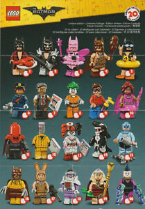 Lego ® Batman Movie Minifigures Series 71017 Complete Choose Your Character