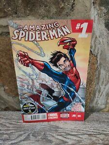 Amazing Spider-Man 1 2014 Silk NM 1st App Cindy Moon