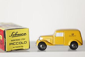 Dickie-SCHUCO-PICCOLO-1-90-Mercedes-170V-Deutsche-Bundespost-in-OVP-84153