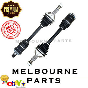 2 BRAND NEW CV JOINT DRIVE SHAFT FORD TERRITORY FRONT SX SY  4/04-