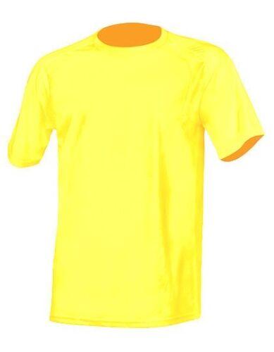Herren Sport T-Shirt Klassisch Quick Dry Netzgewebe Gr.S-XXL in 14 Farben NH250