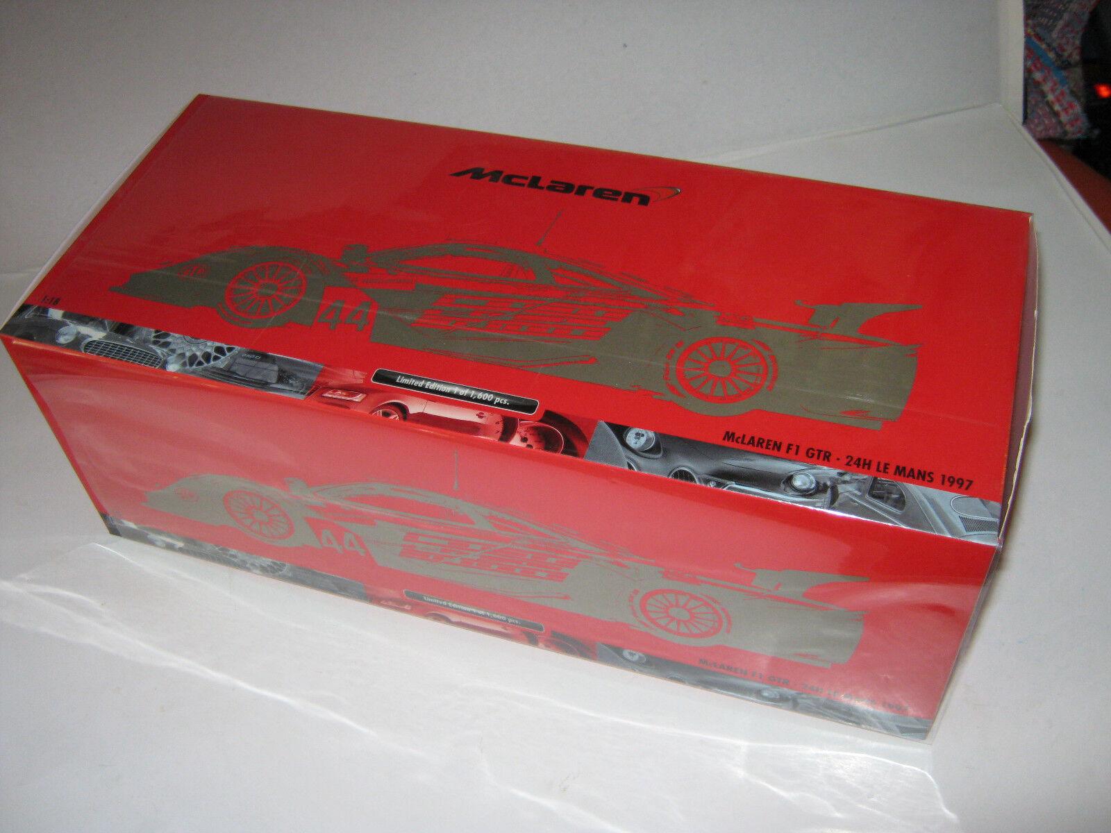 1 18 mclaren f1 GTR 1997 atsuo ayles Lemans Minichamps 530133744 OVP New