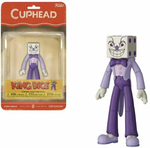 Cuphead Funko King Dice Action Figure