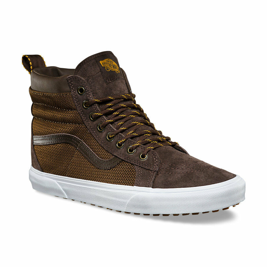 Vans Sk8 Hi MTE Demitasse Ballistic Brown LeatherChaussureshommes 7 femmes8.5 NEW