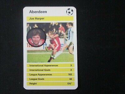 Football 79 # 439 Joe Harper Panini Aberdeen