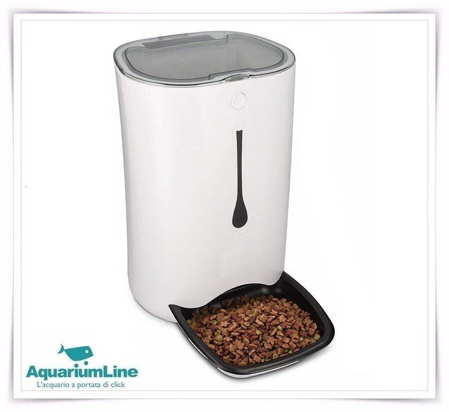 Jecob Distributore Automatico di cibo con Videocamera Integrata per Cani e Gatti