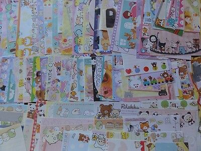 $40 Discounted Wholesale Kawaii Stationery Lot Q-lia Crux Kamio San-X Sanrio