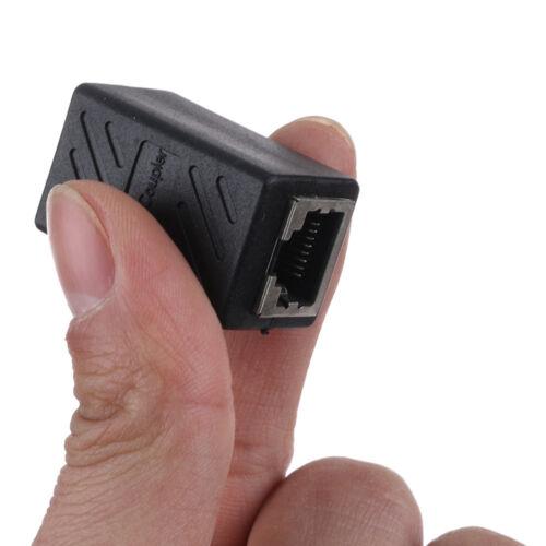 RJ45 Female to Female Network Ethernet LAN Connector Adapter Coupler Extender !