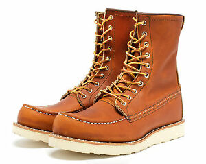 RED WING 8-INCH BOOT STYLE 877 ORO LEGACY MADE IN THE USA | eBay