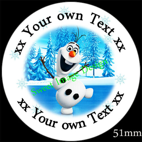 FROZEN inspired stickers Sweet cone labels Gifts Hamper Stocking filler Cards